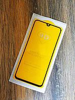 Защитное стекло Full Glue для Samsung A40 2019 Galaxy A405f Черное 5D