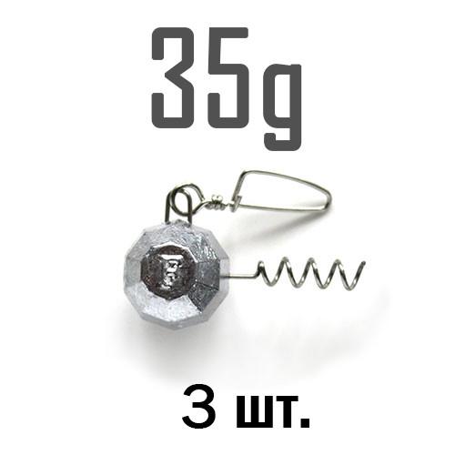 ШТОПОР ГРАНЁНЫЙ Fanatik  35 г. 3 шт.