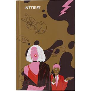 Книга записная Kite Время и Стекло VIS19-199-2 твердая обложка А6, 80 листов, клетка, фото 2