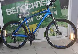 """Велосипед SPELLI 27,5"""" SX-3700 (650B) 2017 рама 19"""" синій/матовий SP000101"""
