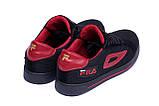 Мужские летние кроссовки сетка FILA  (реплика), фото 6