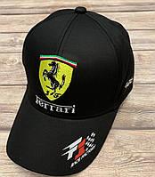 Кепка с логотипом авто Ferrari,  р. 57-58