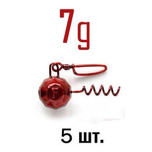 ШТОПОР ГРАНЁНЫЙ Fanatik цвет: RED  7 г. 5 шт.