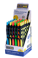 Ручка кулькова Buromax Live Touch, автоматична, 0,7мм, масляні чорнила, синя (BM.8270)