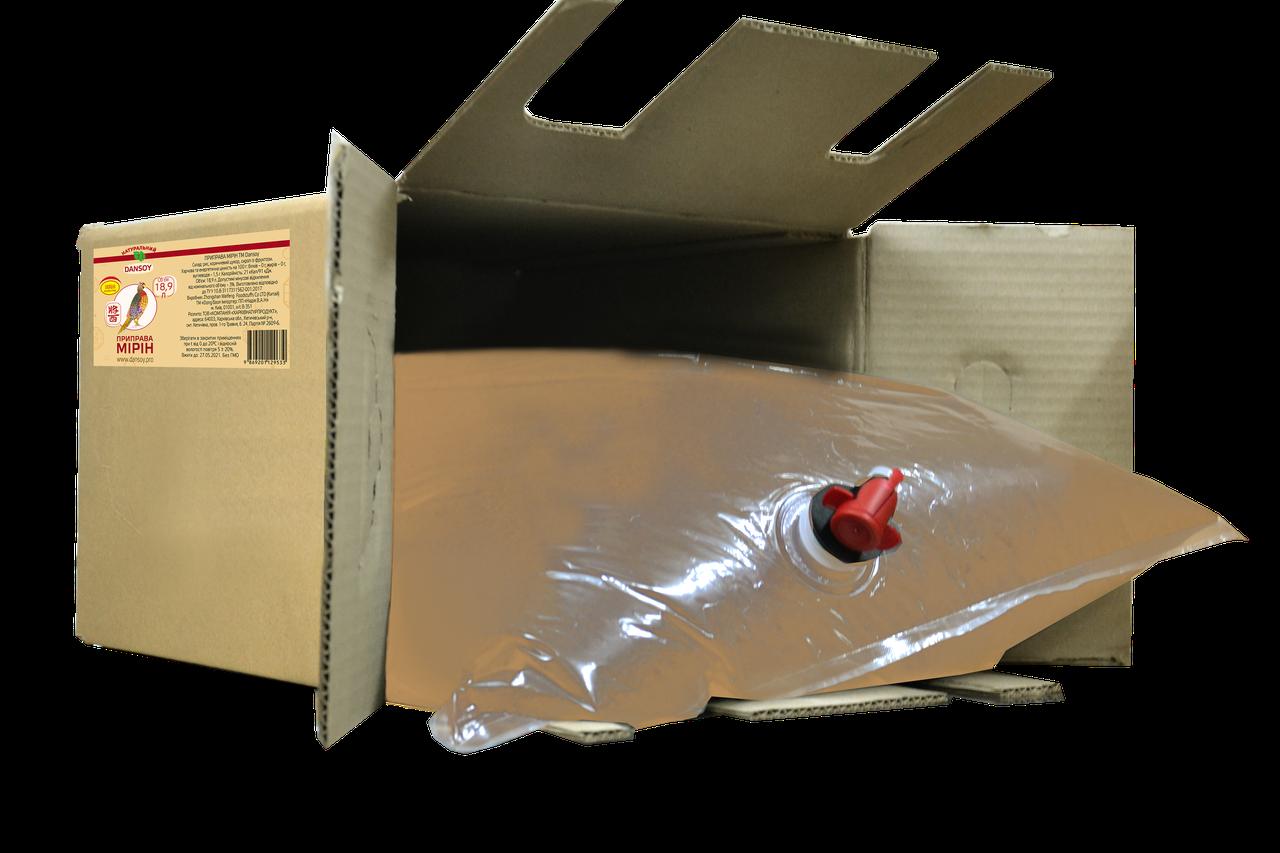АКЦИЯ!!! Приправа Мирин Dansoy 18,9 л картонная коробка (ДанСой)