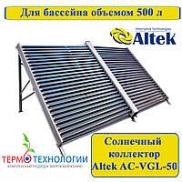 Сезонный солнечный коллектор Altek AC-VG-50(AL), подогрев бассейна, фото 1