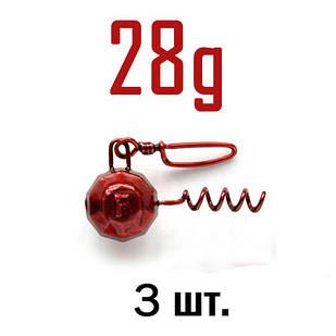 ШТОПОР ГРАНЁНЫЙ Fanatik цвет: RED  28 г. 3 шт.