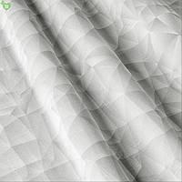 Тюль с графикой на светло-сером Испания 82913v1