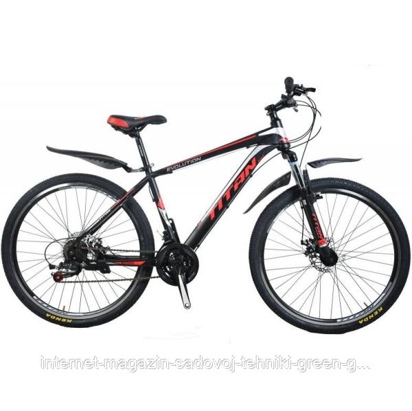 Велосипед Titan Evolution 29″, стальная рама (Украина)