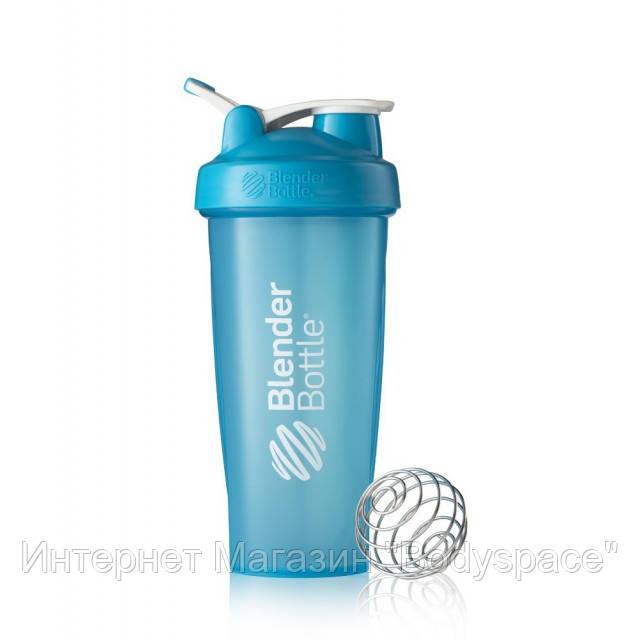 Blender Bottle, Спортивный шейкер BlenderBottle Classic Loop Aqua, 760 мл