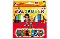 Фломастеры волшебные меняющие цвет MALINOS Malzauber 12 (10+2) шт MA-300005