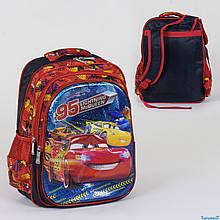 Школьный рюкзак Тачки 3D принт