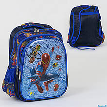 Шкільний рюкзак Спайдермен 3D принт