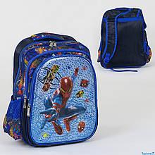 Школьный рюкзак Спайдермен 3D принт