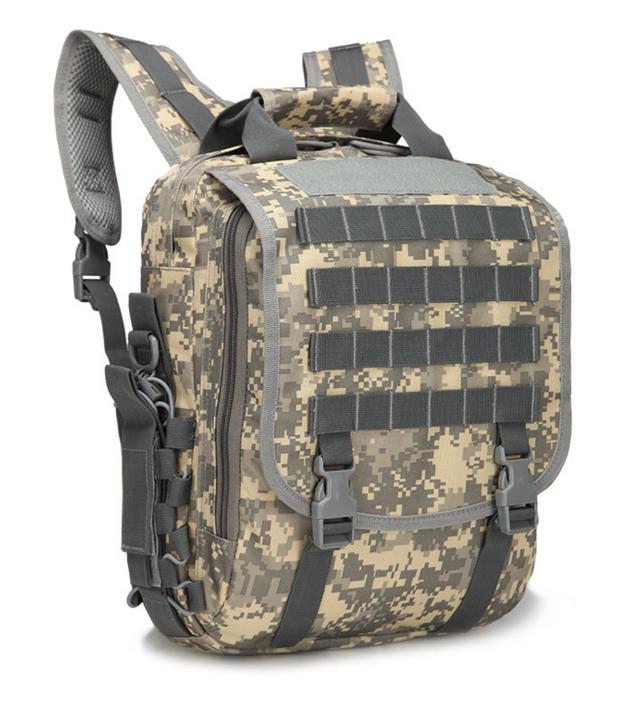 Сумка-рюкзак тактическая,городская,деловая  TacticBag Пиксель