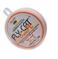 Шнур Spod&Marker NTEC FlyCat Orange 274м, 0.18мм, 25lb 11.3кг