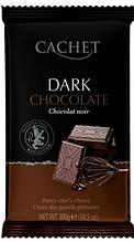 Шоколад Cachet черный 53% какао 300 г
