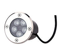 Светильник грунтовый LED QR-02  5W RGB 220V  IP65 размер 100мм*75мм, фото 4