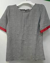 Комплект дівч (кофта+штани) Federi, 146 сірий червоний
