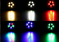 Светильник грунтовый LED QR-02  5W RGB 220V  IP65 размер 100мм*75мм, фото 5
