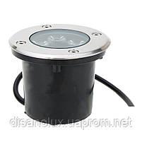 Светильник грунтовый LED QR-02  5W RGB 220V  IP65 размер 100мм*75мм, фото 6