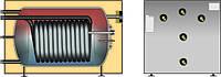 WWS-TS бак ГВС для горизонтальной установки с котлом