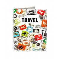 Обложка на ID паспорт Travel марки, Обложки на пластиковые права, Обкладинка на ID паспорт Travel марки