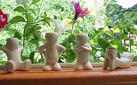 Травянчик керамический - эко человечки