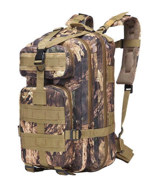 Тактический штурмовой военный городской рюкзак TacticBag на 20-25литров Дуб