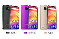 Ulefone Note 7. Безрамочный 6.1'' 2SIM 2G/3G RAM1GB ROM16GB 5и12mPix 4ядра 2 цвета + бампер, плёнка