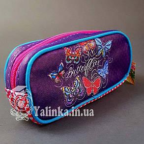 Пенал-косметичка школьный Бабочки 930813, фото 2