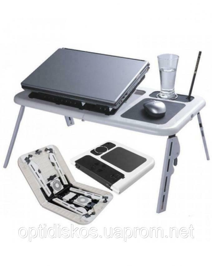Столик - охлаждающая подставка под ноутбук E-Table