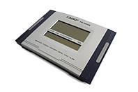 ✅ Настенные часы Kadio (KD-3809N) электронные часы настольные с большим экраном цифровые часы, Электронные настольные часы, Електронні настільний