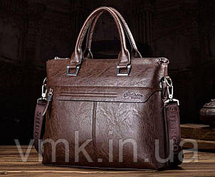 Стильная мужская сумка с ручками. Размер 36-29-5 см.