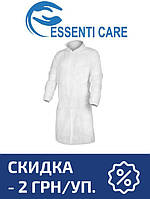 Защитный халат из нетканого материала Essenti Care (Mondo) (50 шт.) белый