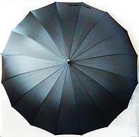 """Семейный зонт-трость """"WE-DA""""  полуавтомат, 16 спиц / Зонт антиветер"""