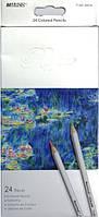 """Набор цветных карандашей 24 цветов """"Raffine"""" 7100-24СВ Marco"""