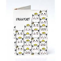 Обложка для паспорта Котики, Обложки для паспорта, Обкладинка для паспорта Котики