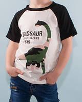 """Футболка детская """"Динозавр""""( рост 122) хлопок"""