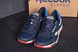 Мужские летние кроссовки сетка Reebok Blue (реплика), фото 9