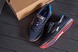 Мужские летние кроссовки сетка Reebok Blue (реплика), фото 10