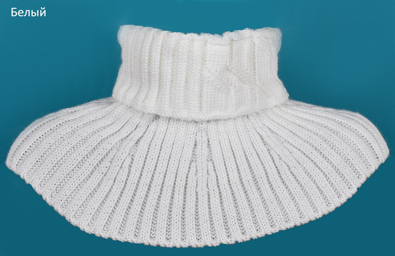 Удобный и практичный шарф манишка для детей