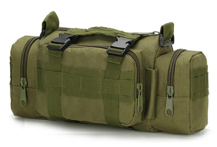 Тактическая универсальная поясная, наплечная сумочка TacticBag Олива