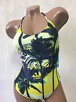 Купальник женский-подростковый совместный. Rivage line 2294 желтый , фото 1