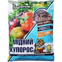 """Медный купорос 300 г, Garden Club """"Садівник"""", Украина"""