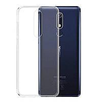 Чехол Case для Nokia 5.1 силиконовый прозрачный