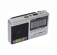 ✅ Портативный радиоприемник Golon RX-181 серый fm с usb флешкой и аккумулятором фм с mp3 плеером, Радиоприемники, рации, микрофоны и радиосистемы,