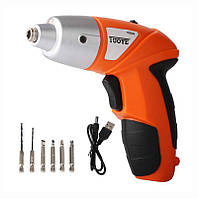 ✅ Шуруповерт электрический аккумуляторный Tuoye Tools Cordless Screwdriver отвертка аккумуляторная, Инструменты, Інструменти