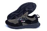 Мужские летние кроссовки сетка FILA  (реплика), фото 5