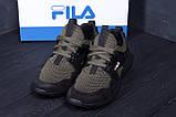 Мужские летние кроссовки сетка FILA  (реплика), фото 7